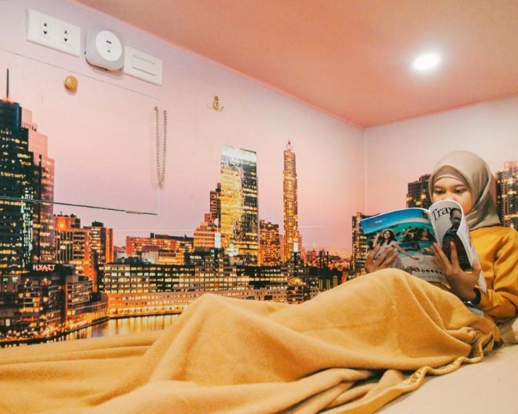 坦林因納普膠囊旅館