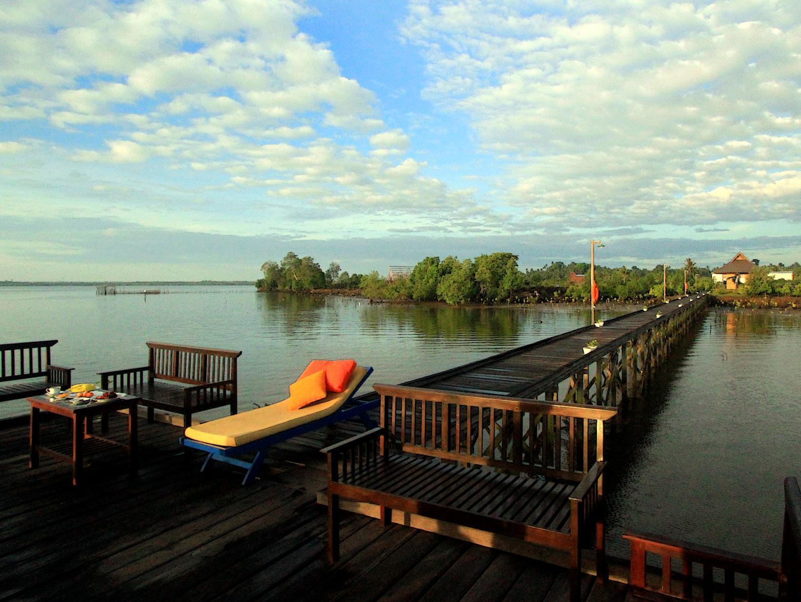 A Seafront Villa With Private Jetty, Kutai Timur