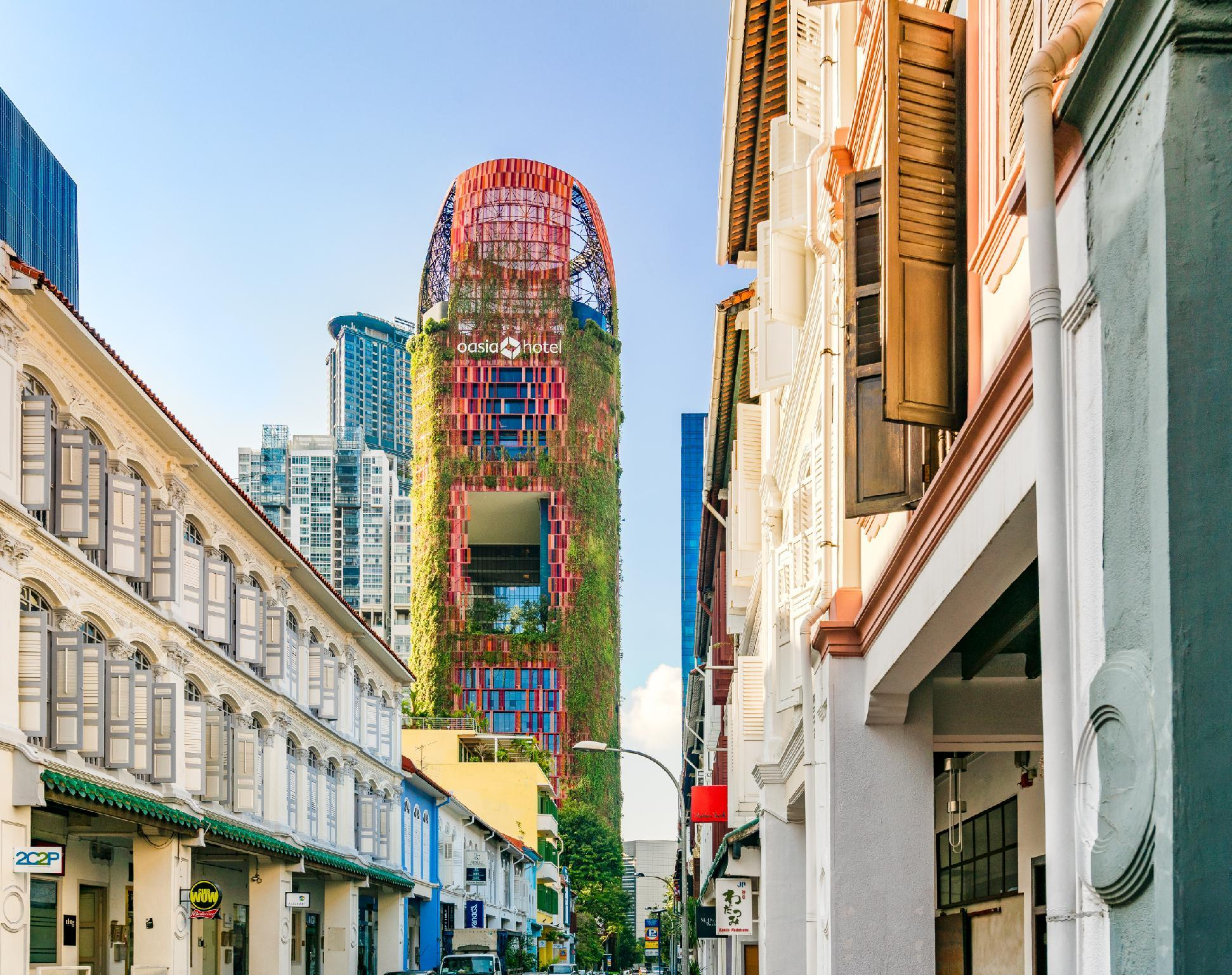 Oasia Hotel Downtown Singapore by Far East Hospitality, Downtown Core