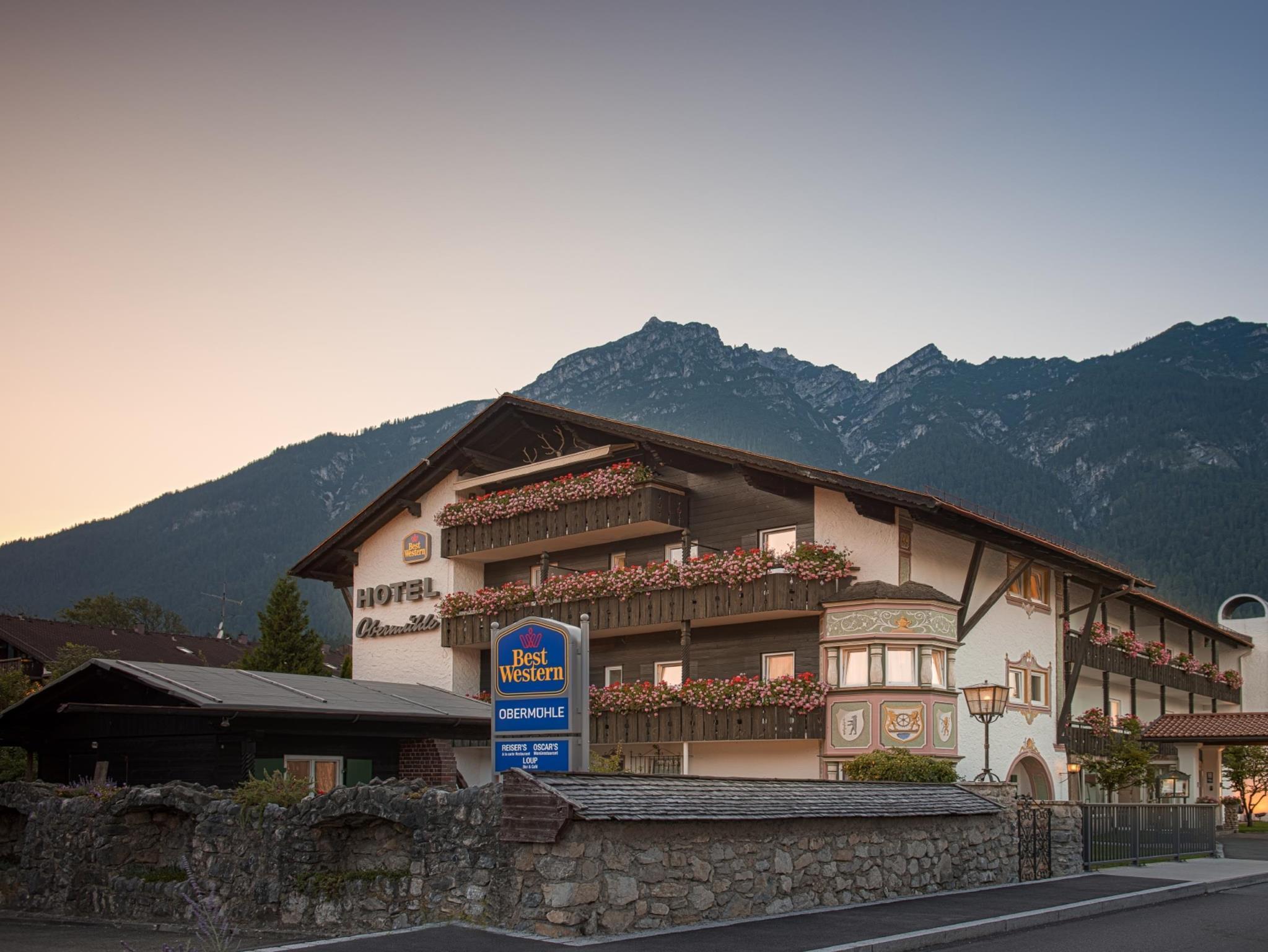 Obermuhle 4*S Boutique Resort, Garmisch-Partenkirchen