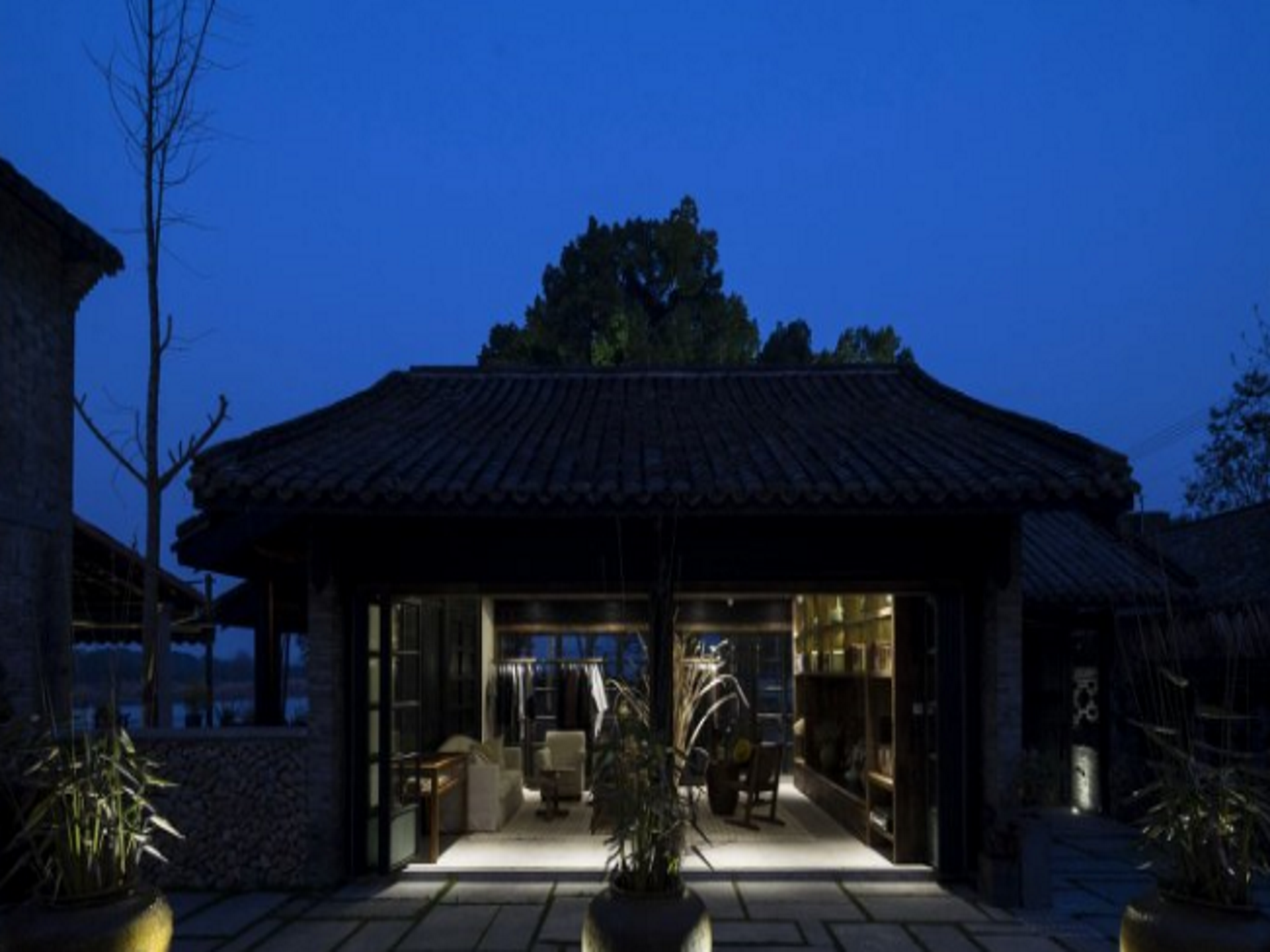 Seclusive Life in Landscape, Lishui