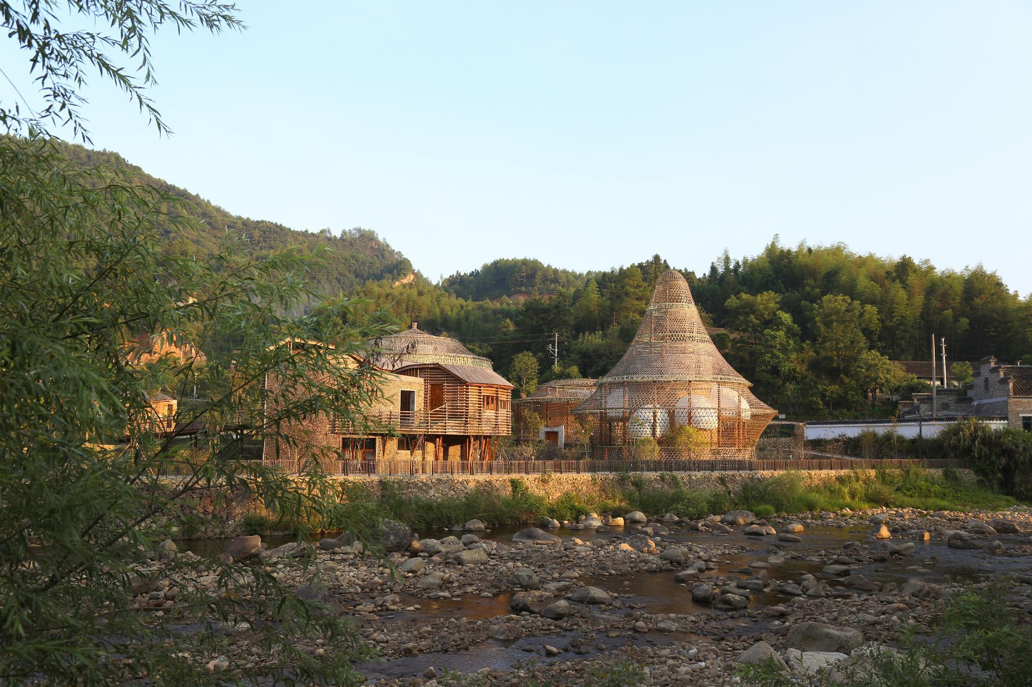 The International Cultural and Creative Bamboo Village, Lishui