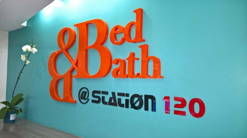 車站120號床位與浴室旅館