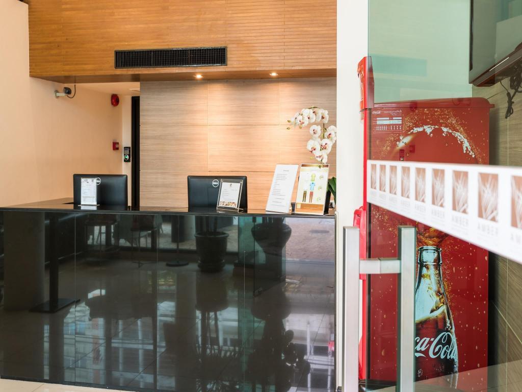 アンバー ブティック ホテル シーロム8