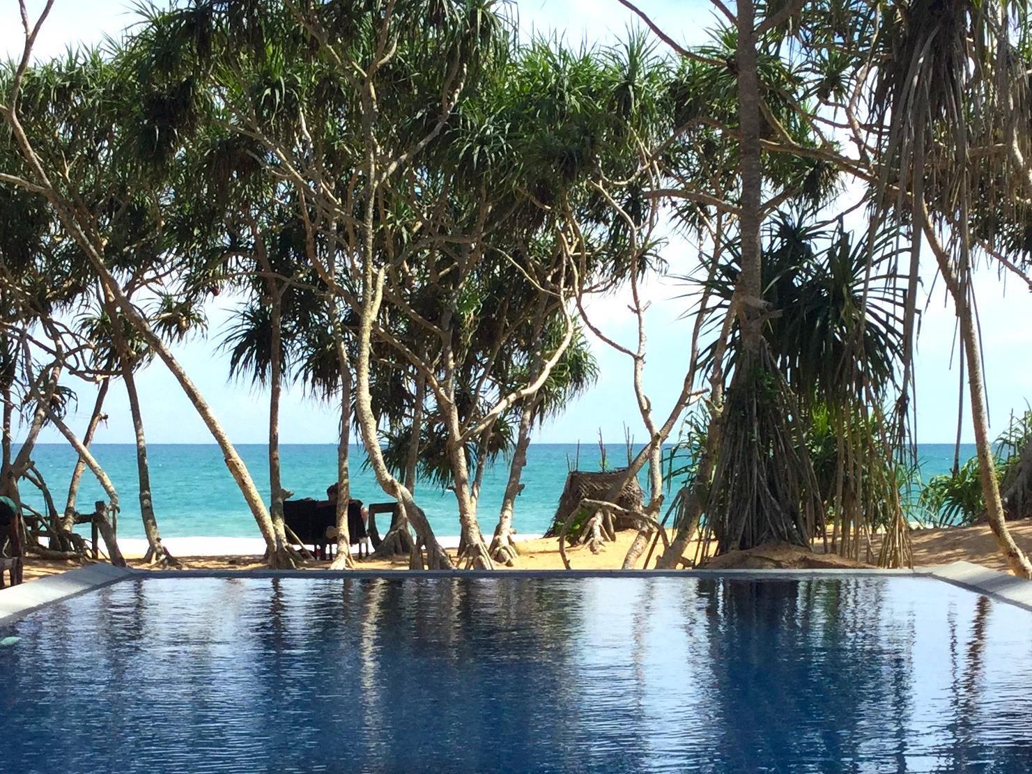 Sanjis The Seaside Cabanas Hotel, Tangalle