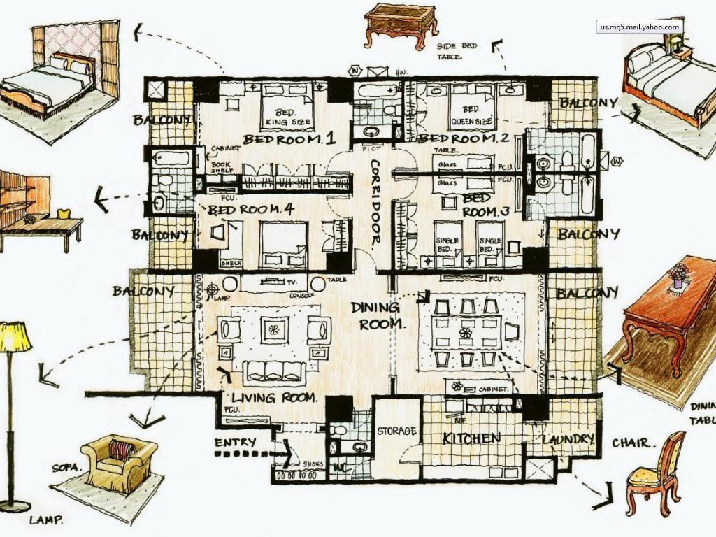 オーキッド ビュー アパートメント3