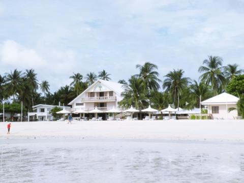 Santa Fe Beach Club in Bantayan Island