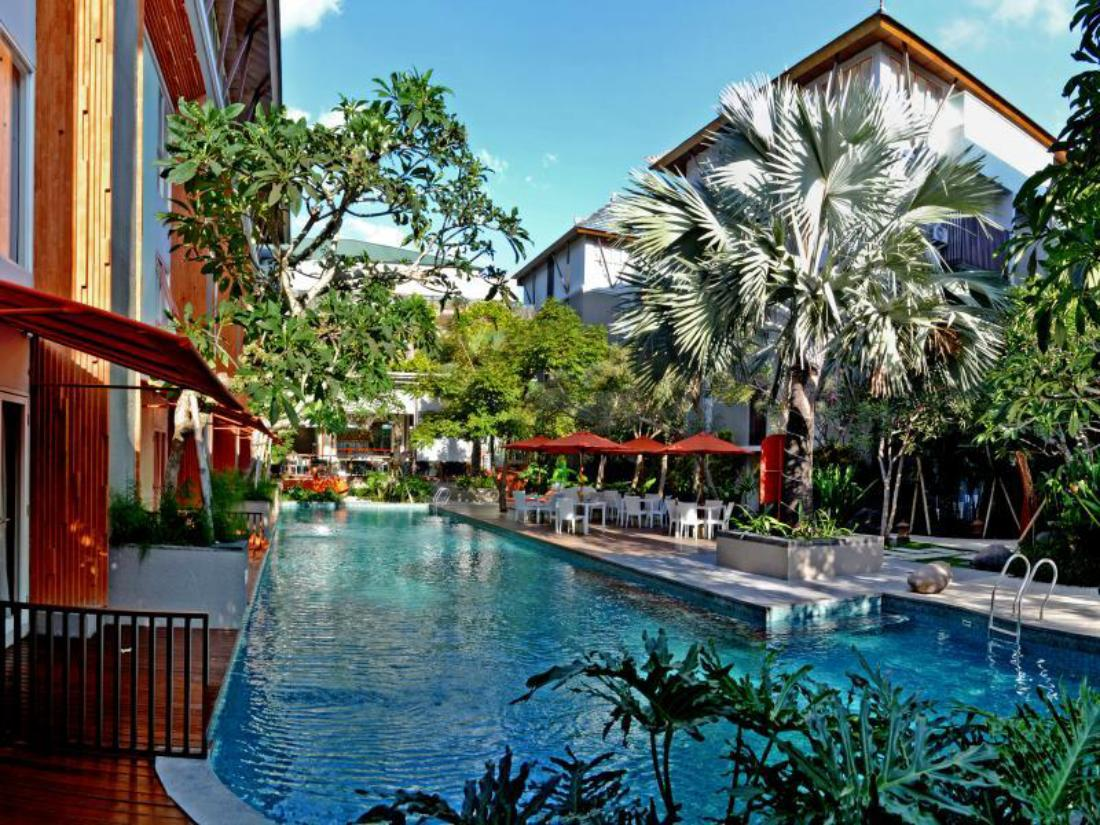 Book harris hotel residences sunset road bali indonesia for Bali indonesia hotel booking
