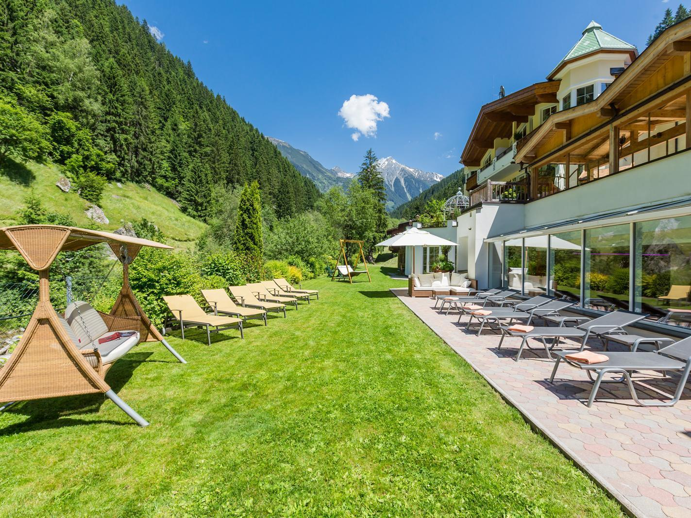 Alpin Lodge das Zillergrund - Mountain Aktiv Relax