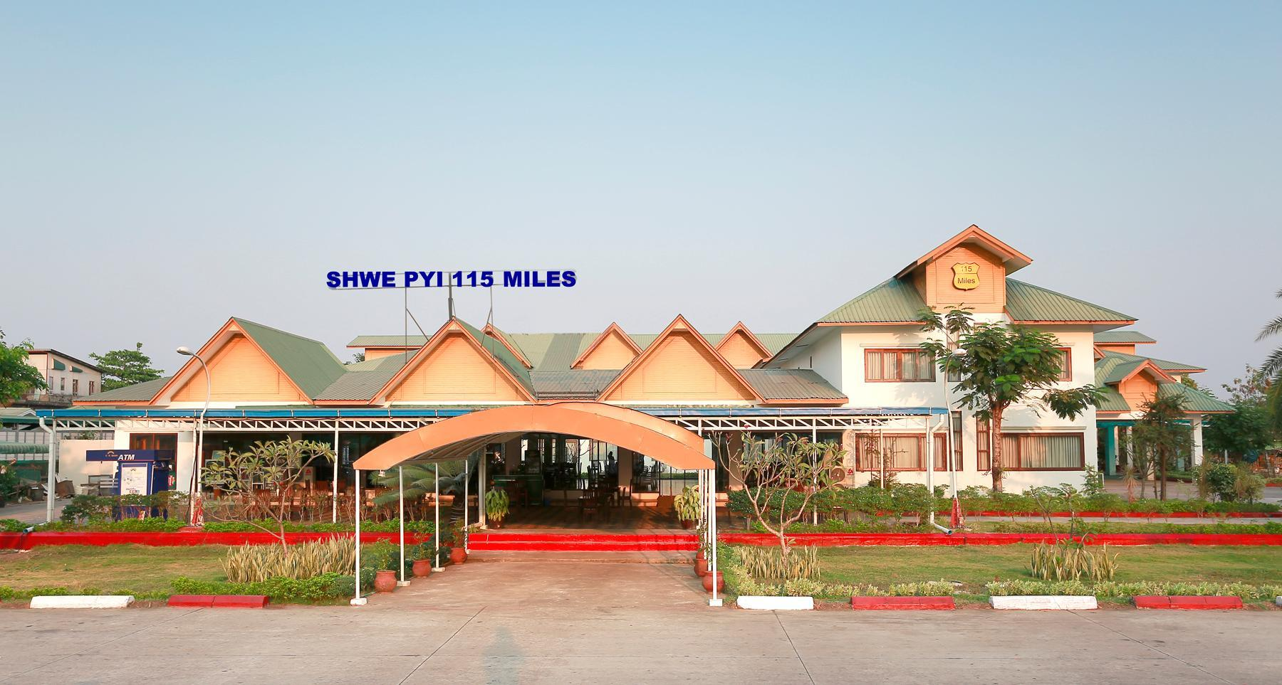Shwe Pyi 115 miles, Taungoo