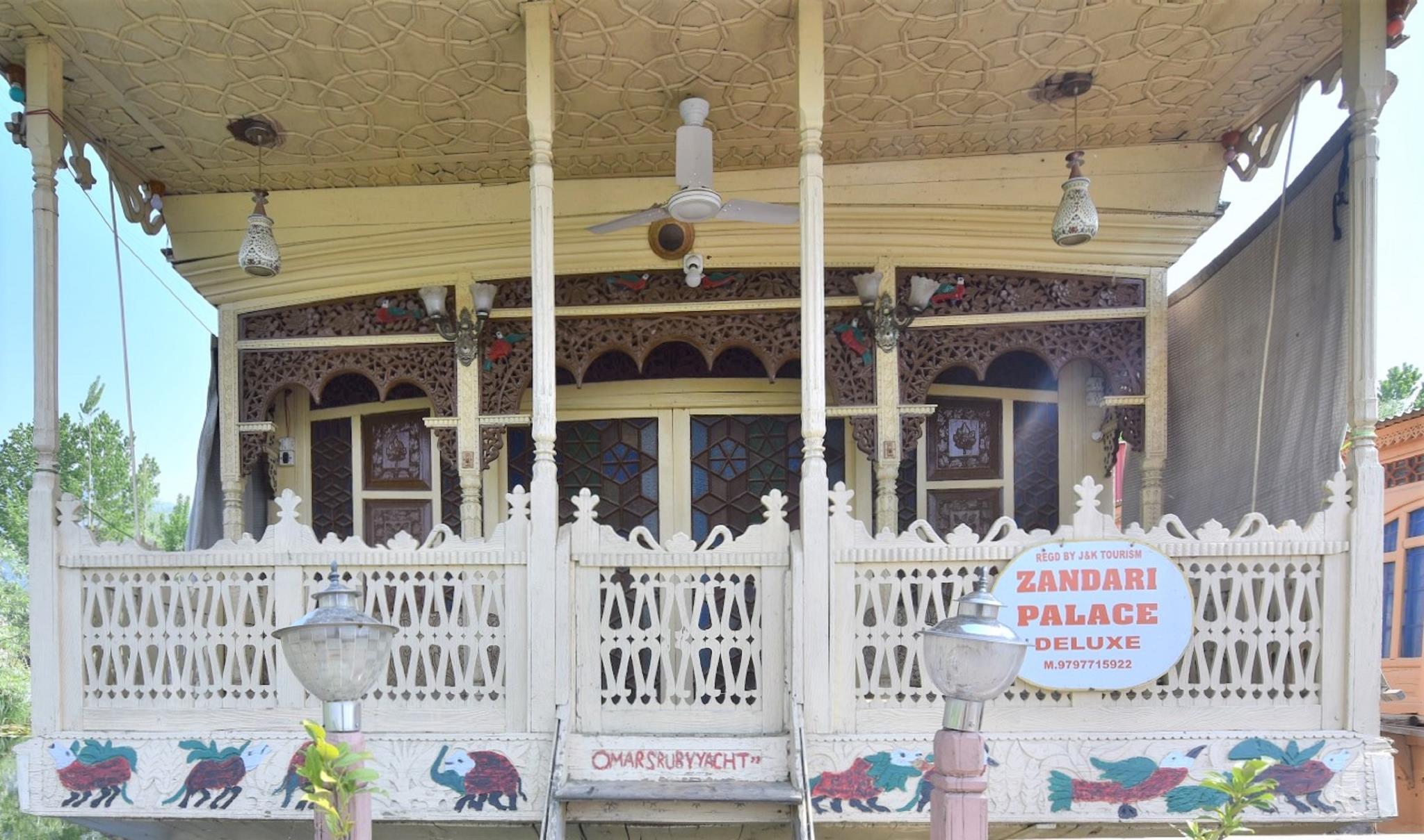 Houseboat Zaindari Palace, Srinagar