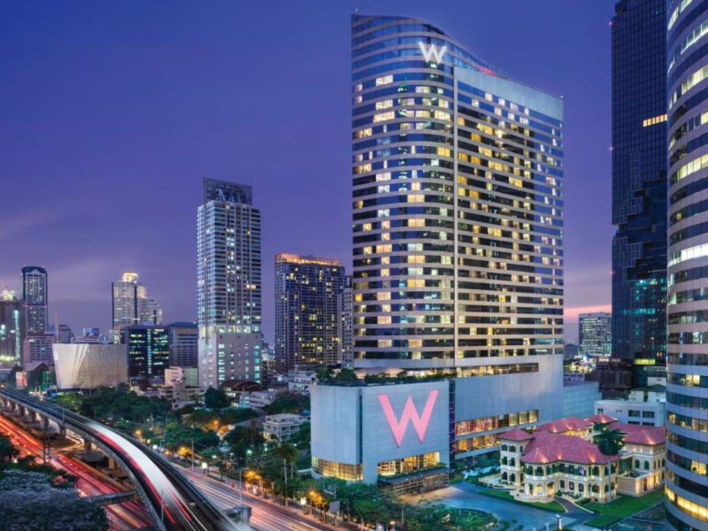W バンコク ホテル1