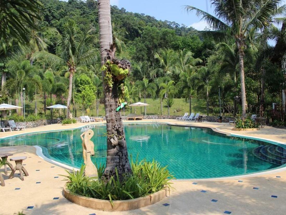 象岛泰国园山度假村 (koh chang thai garden hill resort)