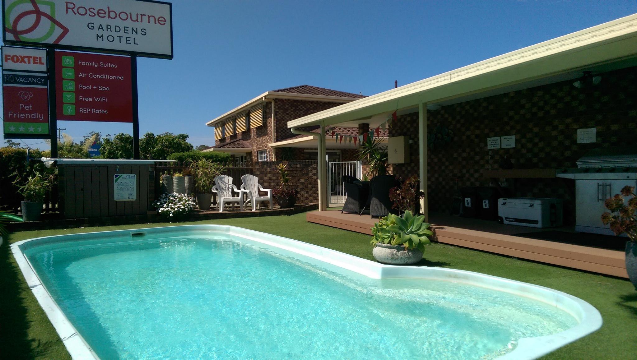 Rosebourne Gardens Motel, Coffs Harbour - Pt B