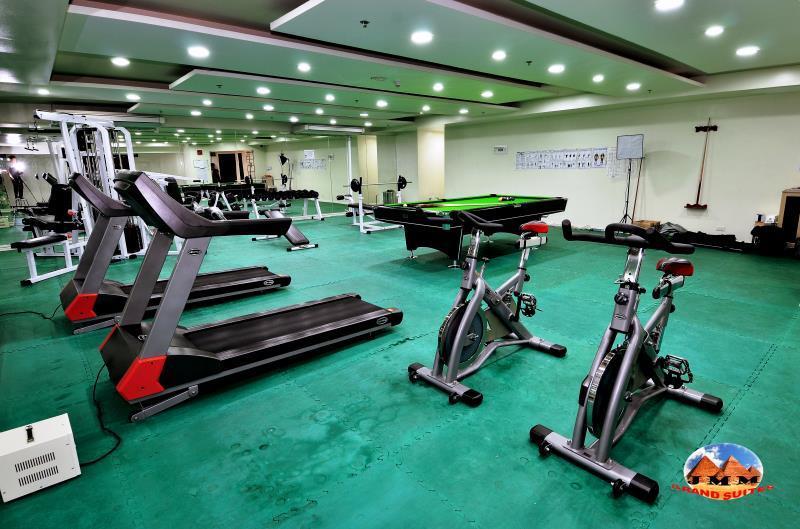 JMM Grand Suites - Fitness center
