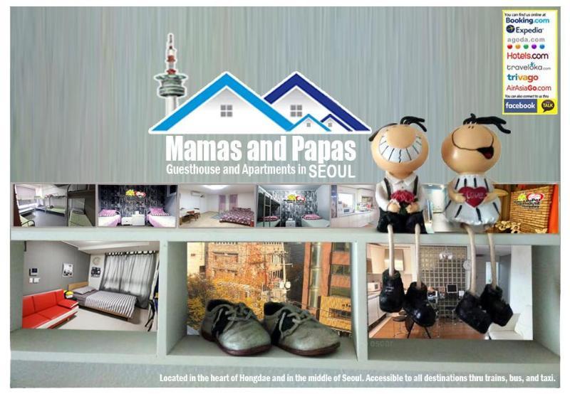 Mamas and Papas Hongdae Guesthouse
