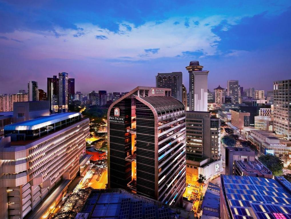 Pan Pacific Orchard Hotel Singapore   Holidays OO