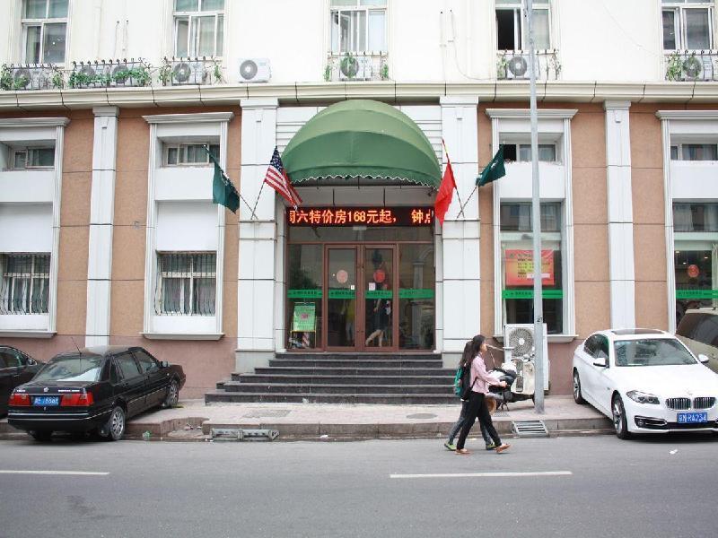 格林豪泰山東省青島市火車站東廣場劈柴院快捷酒店