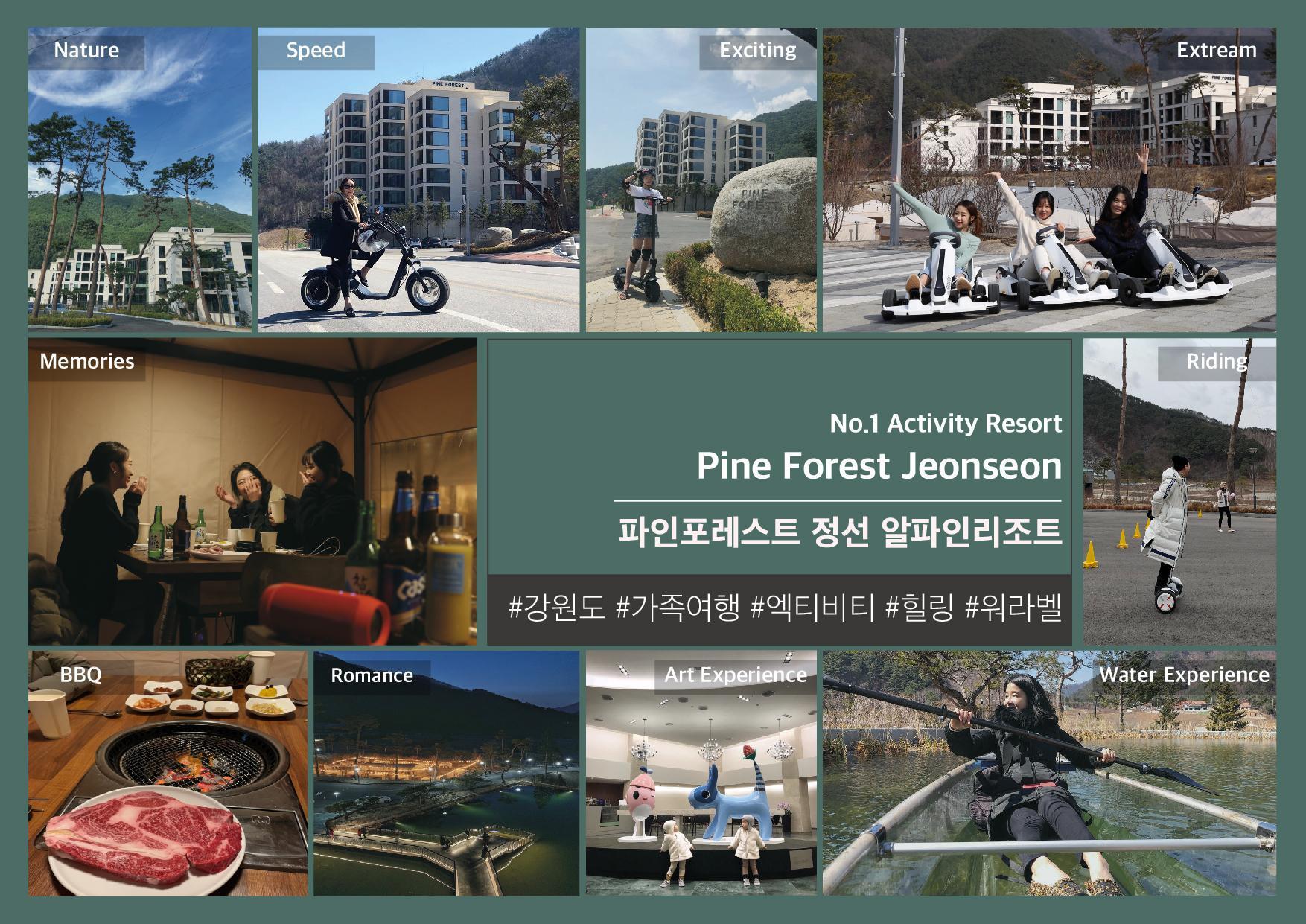 Pine Forest Jeongseon Alpine Resort, Jeongseon