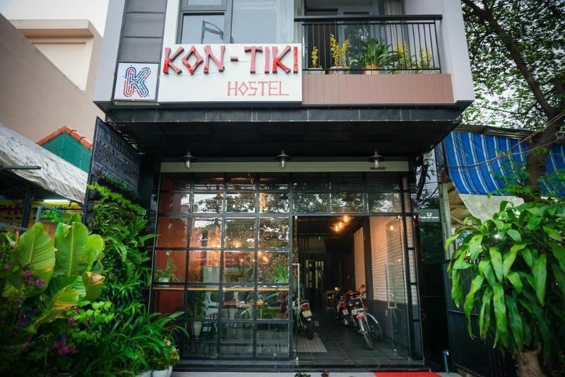 峴港康提基青年旅館