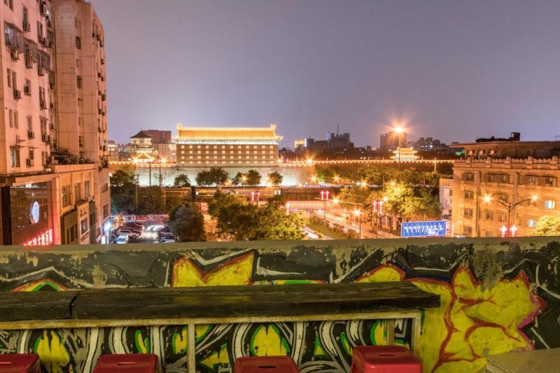 西安Busy酒店鐘樓城牆店