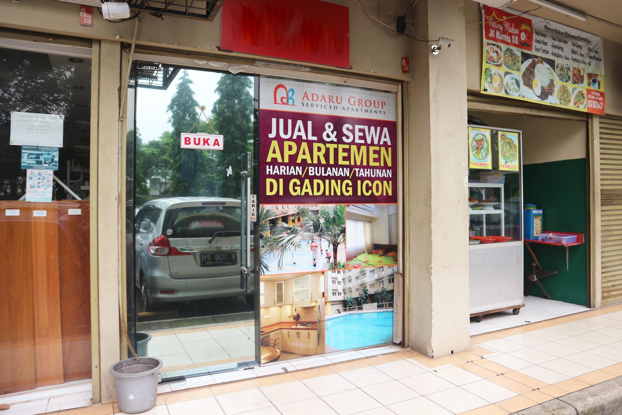 Adaru Gading Icon Apartment, Jakarta Timur