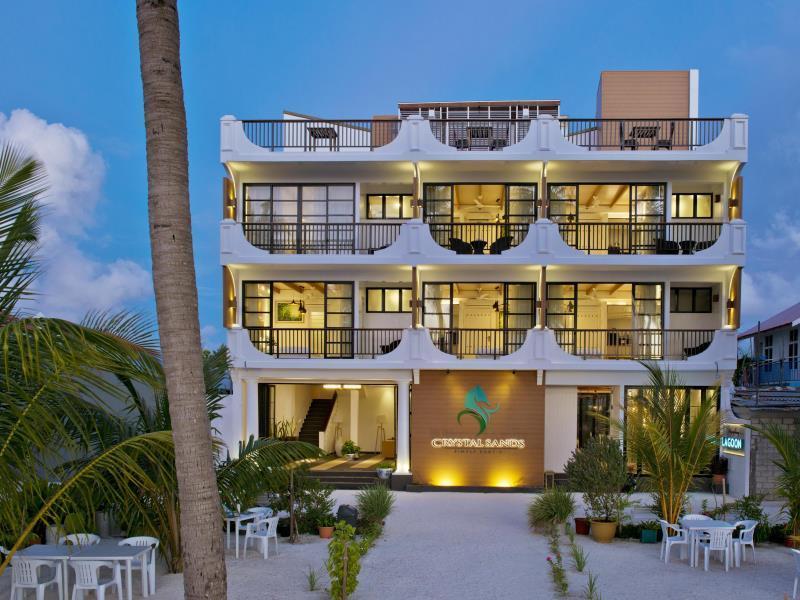 Crystal Sands Beach Hotel at Maafushi, Kepulauan Maafushi