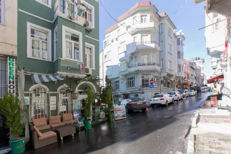 伊斯坦堡塔克西姆綠屋青年旅館