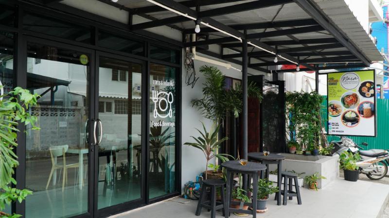 廊曼納拉青年旅館及咖啡廳