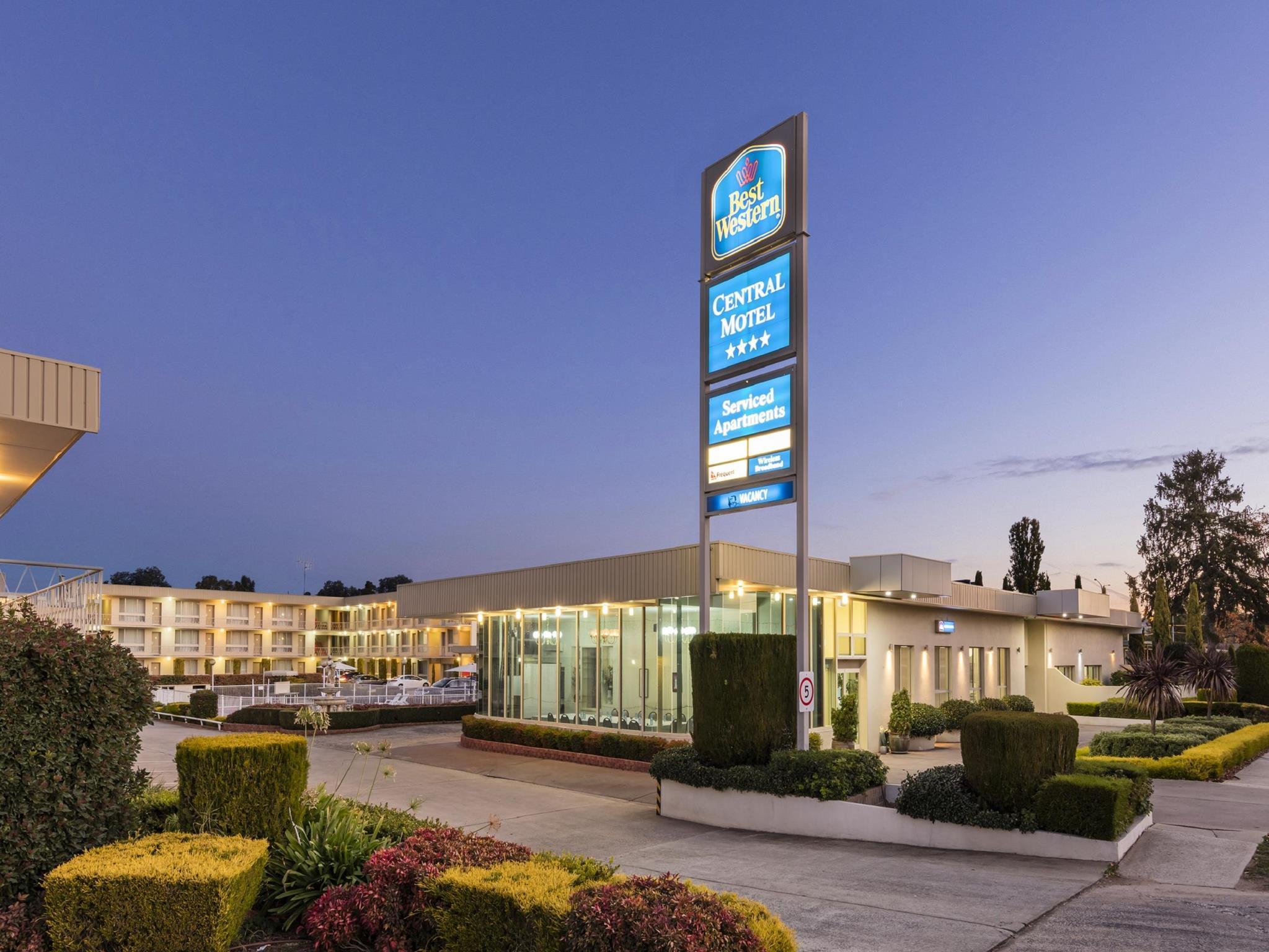 Best Western Central Motel & Apartments, Queanbeyan