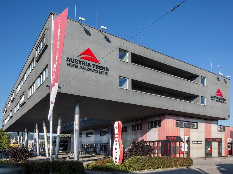 奧地利薩爾茨堡米特趨勢飯店