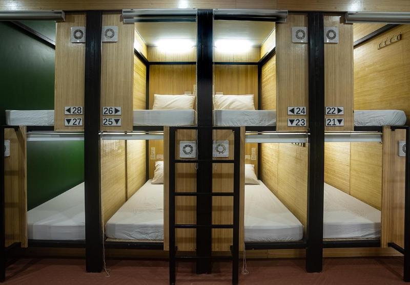 基亞斯蒂膠囊旅館