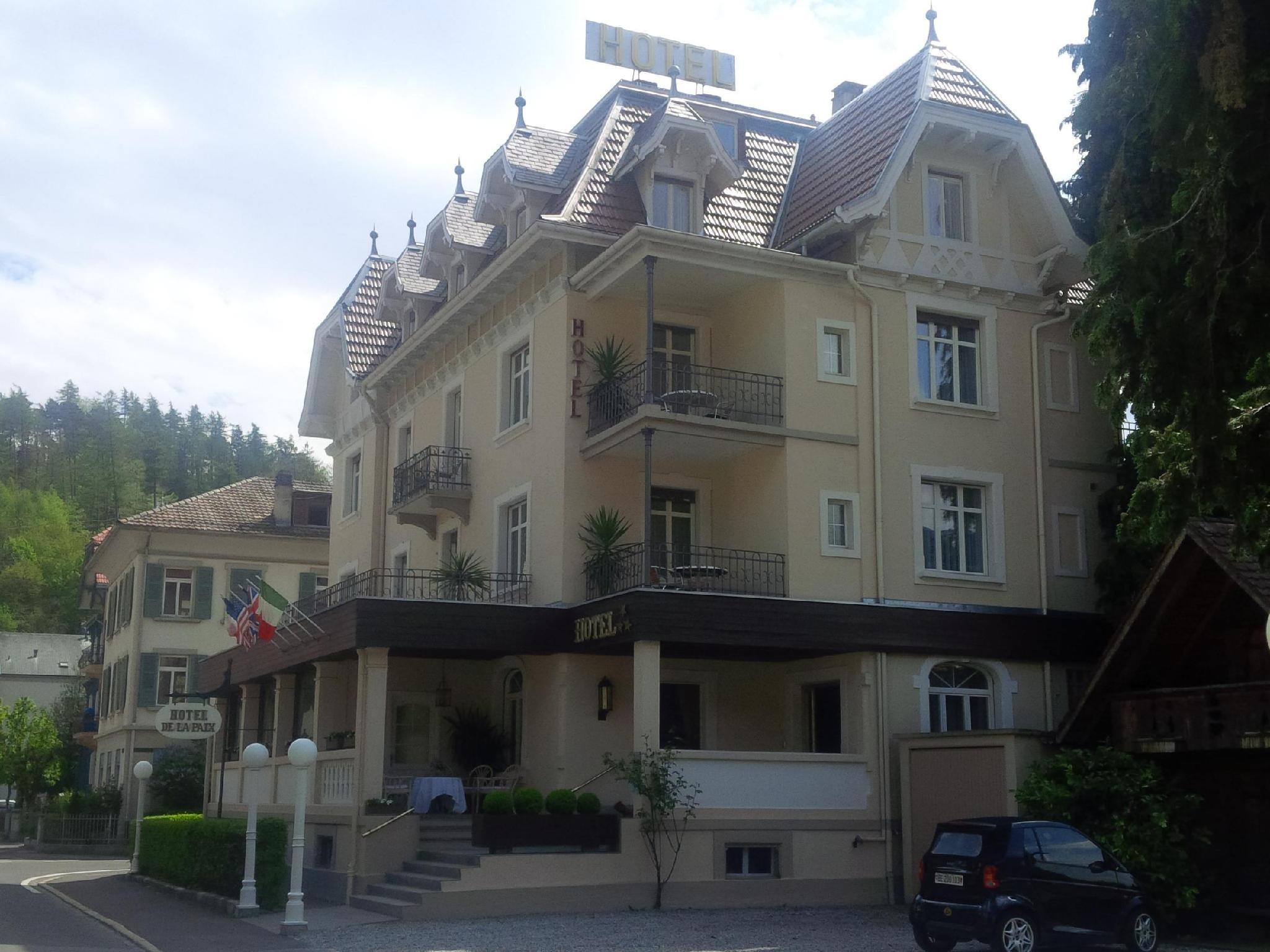 Hotel De la Paix Interlaken, Interlaken