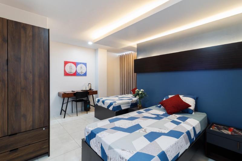 朗芒芽地市公寓套房 - 20平方公尺/1間專用衛浴
