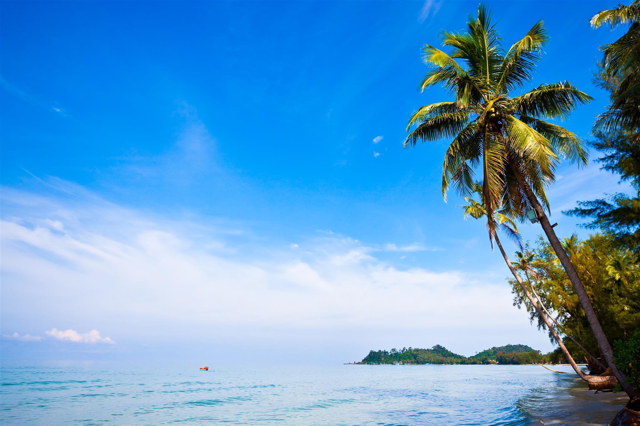 Magical beach front villa