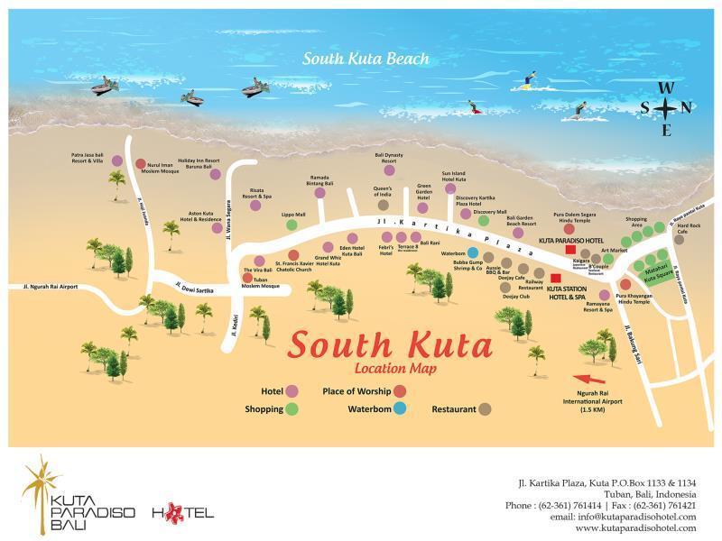 Kuta Paradiso Hotel In Indonesia