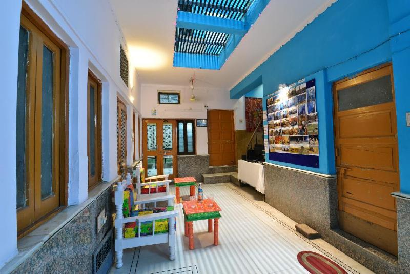 Blue Haveli Guest House Hotel Jodhpur In India