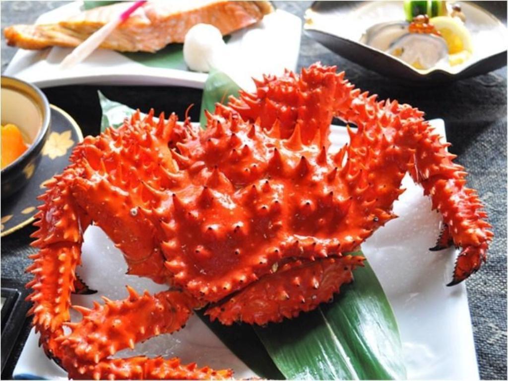 花咲蟹料理おすすめの宿1