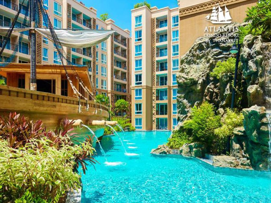 Best price on atlantis condo water park pattaya by the for Atlantis condo