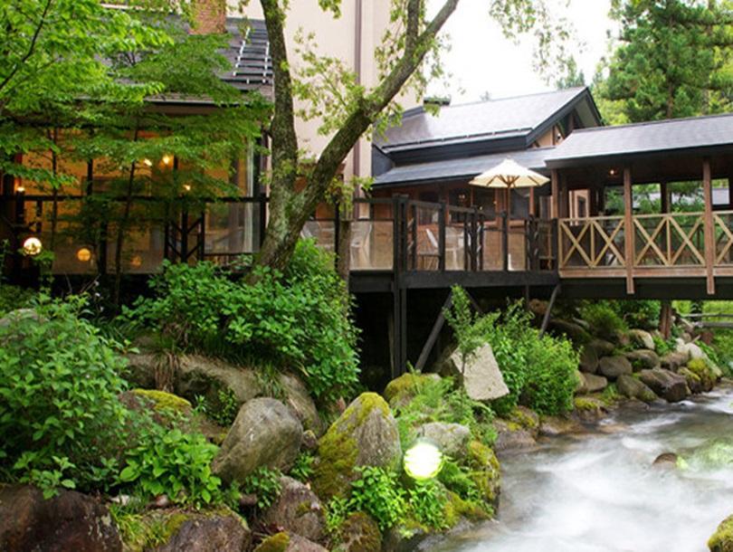 hotel kinokawa, Komagane