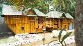 Bamboo house 1 - 2 rooms private bathroom @Nirvana