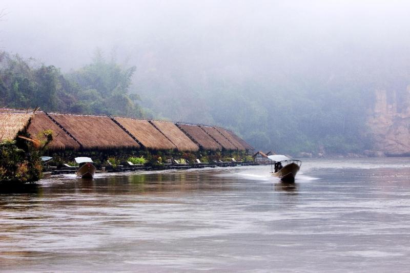River Kwai Jungle Rafts Resort