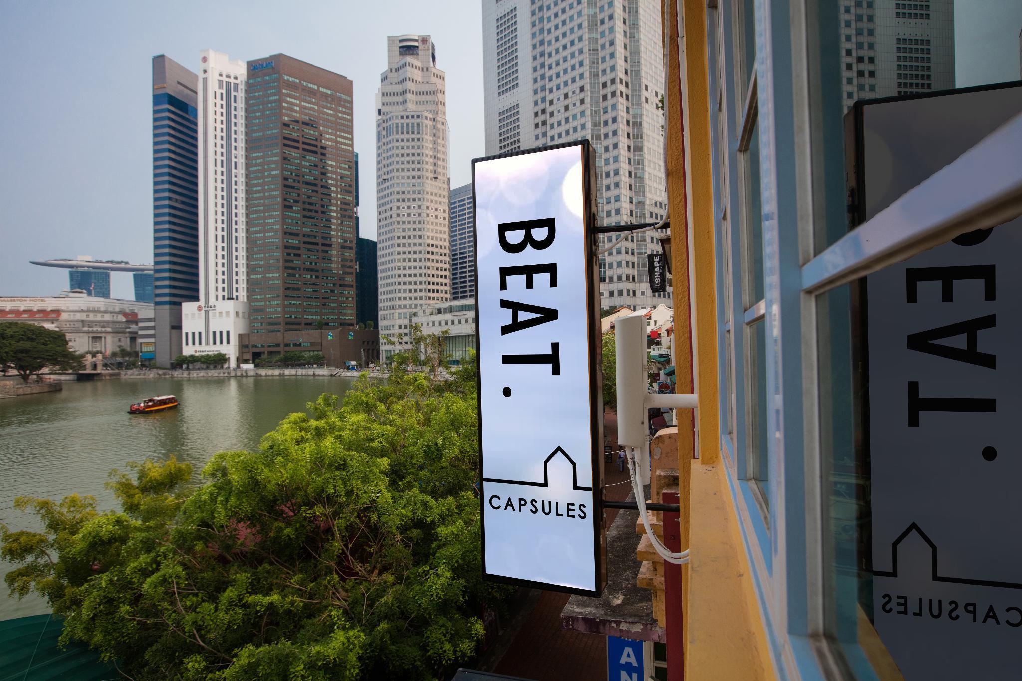 BEAT. Capsules @ Boat Quay, Singapore River