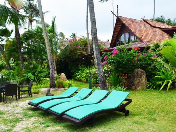 Green Coconut 2 Bedroom Beach Front Villa A8 Koh Samui