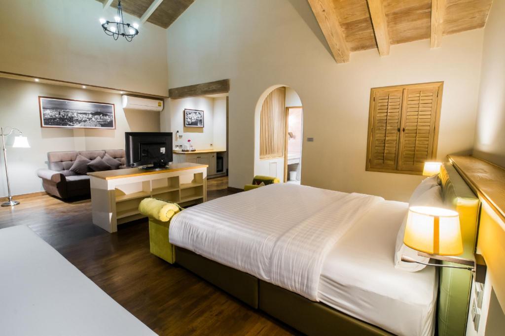 ดีลักซ์ เตียงใหญ่ - ทัศนียภาพภายในโรงแรม