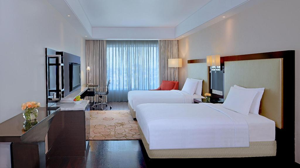 Radisson Hotel Agra Executive Room-Taj View - 卧室