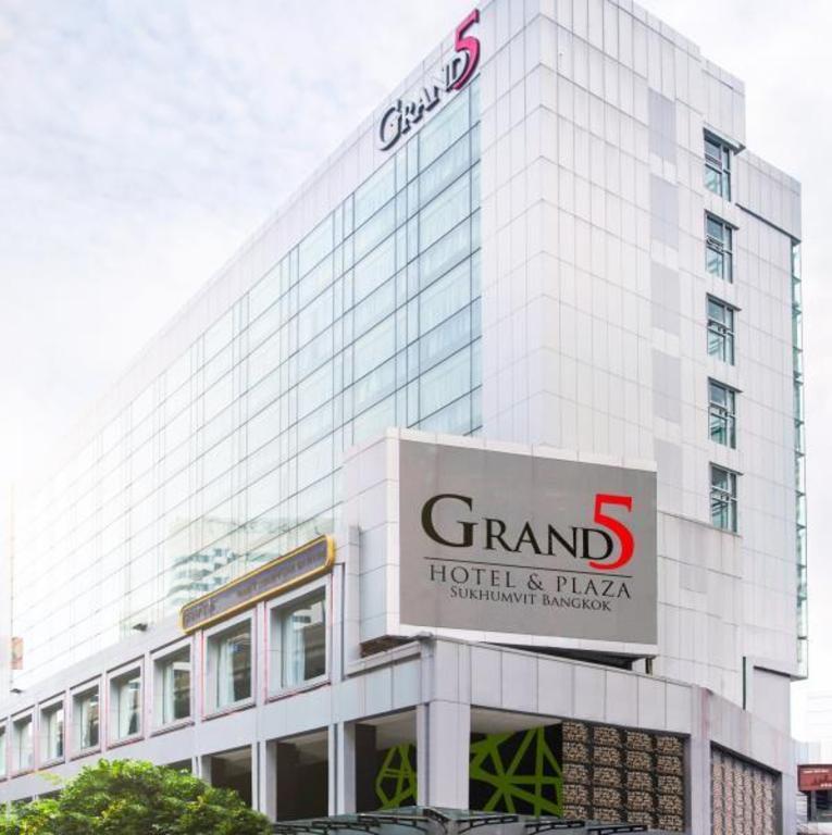 【Sukhumvit Hotel】グランド 5 ホテル&プラザ スクンビット バンコク(Grand 5 Hotel & Plaza Sukhumvit Bangkok)