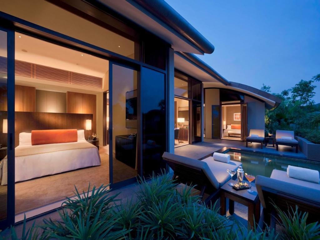 Вилла с 2 спальнями и садом