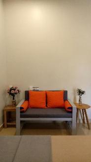 28 m2 fan (N1) studio with kitchenette & bathroom.