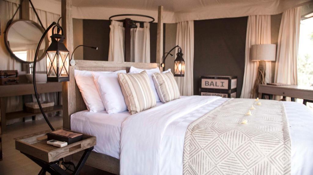 Tenda Glamping Luxury - Tampilan interior